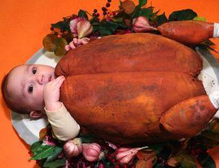 Turkey-baby