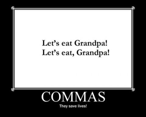 Commas-grandpa